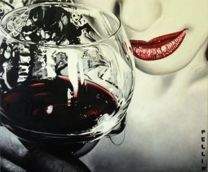 A cena col vampiro | Cinzia Pellin
