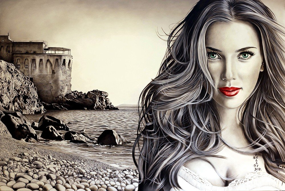Scarlett Johansson | I love Italy