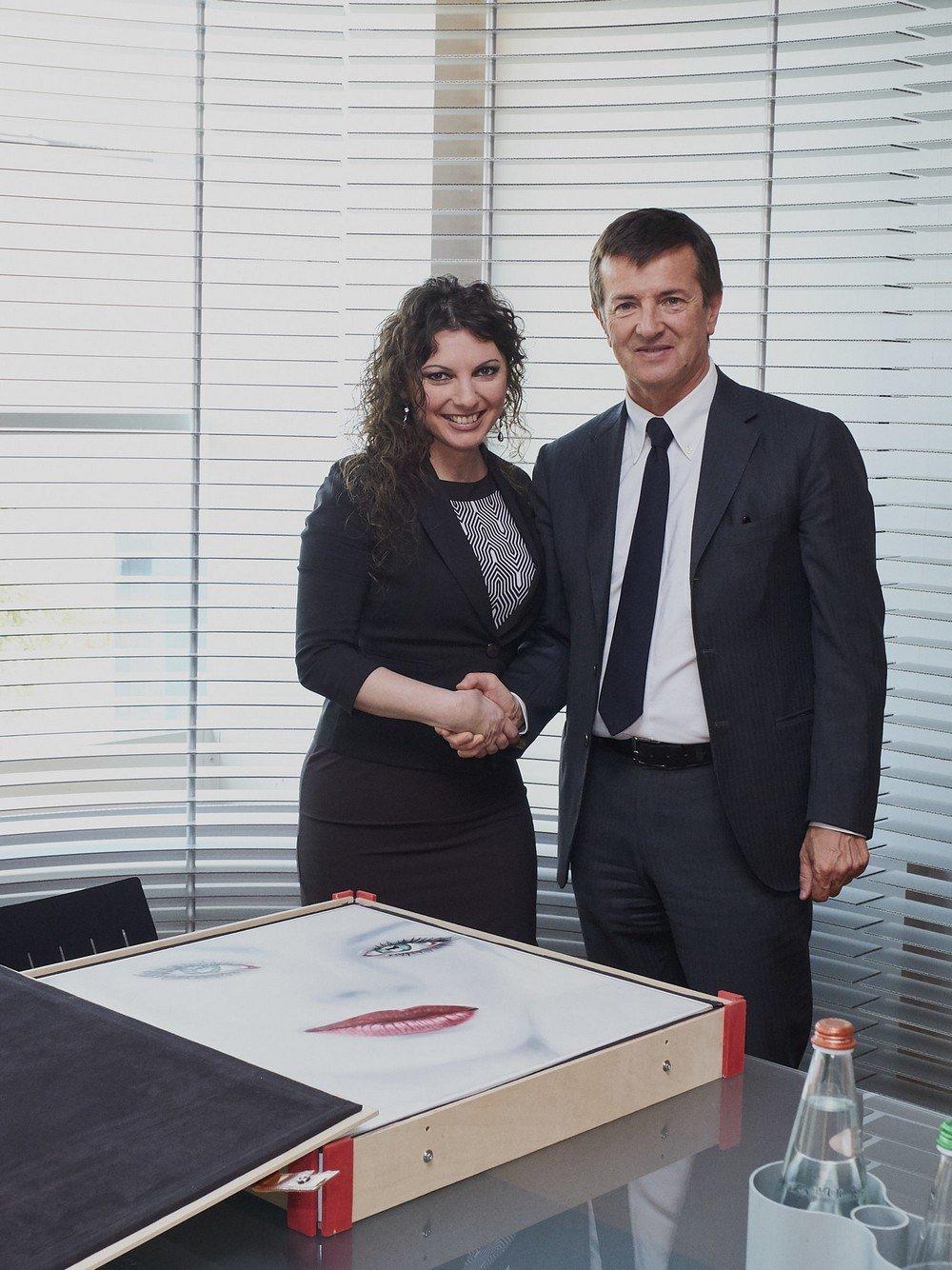 Consegna quadro Gori | Cinzia Pellin