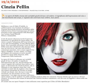 Mostra Latina | Cinzia Pellin