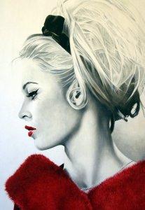 Vestita di rosso | Cinzia Pellin