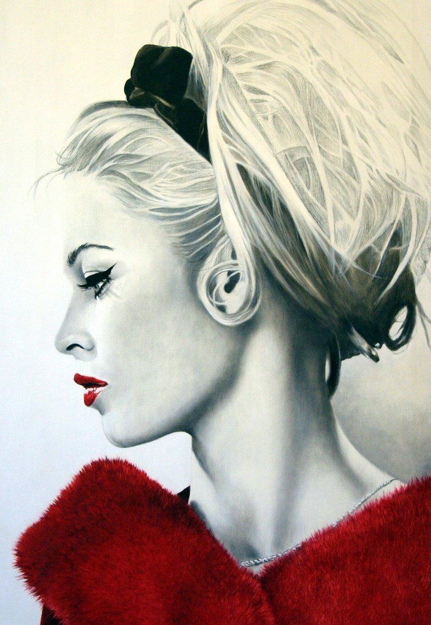 Brigitte Bardot | Vestita di rosso