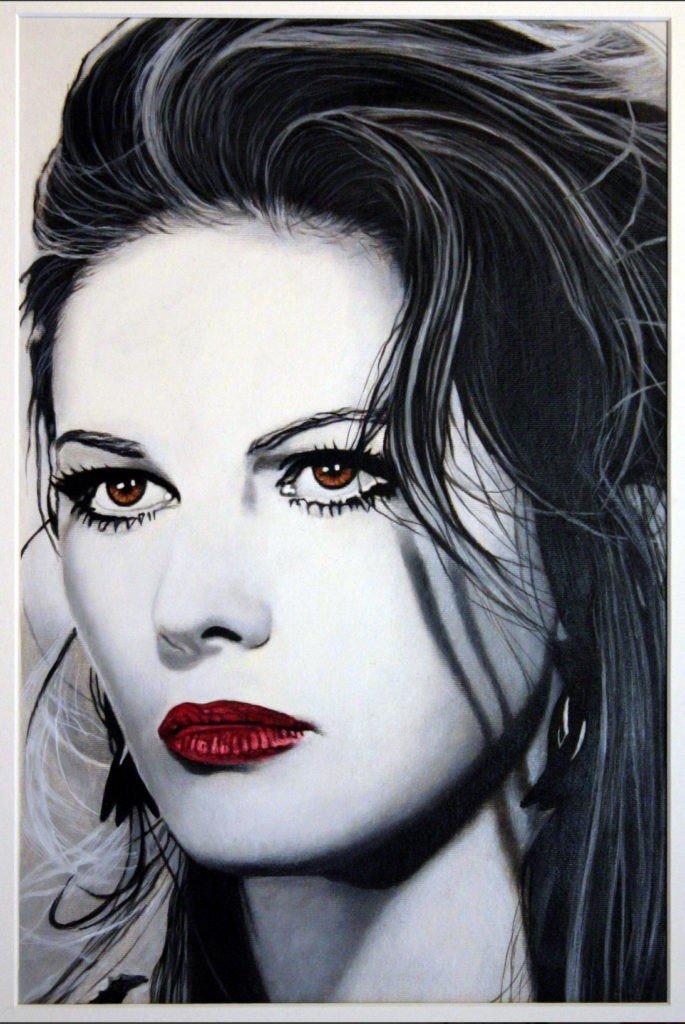 Claudia Cardinale | Scheggia di 'Rosso Cardinale'